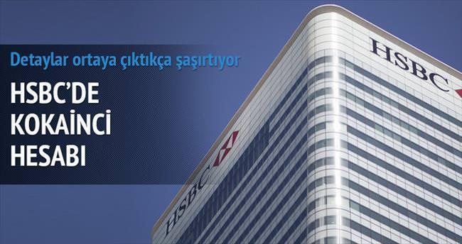 HSBC'de kokainci hesabı