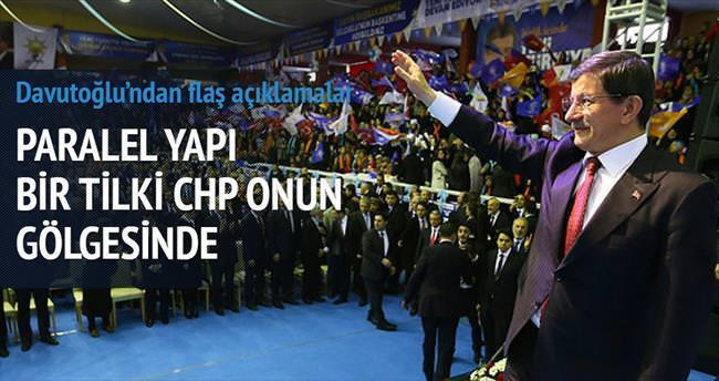 'Paralel yapı bir tilki CHP onun gölgesinde'