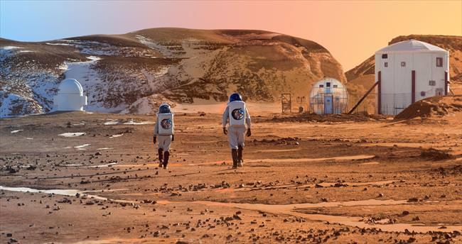 Türkiye Mars'ta yaşam kuracak