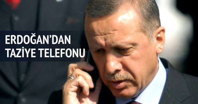 Erdoğan'dan Özgecan'ın ailesine telefon