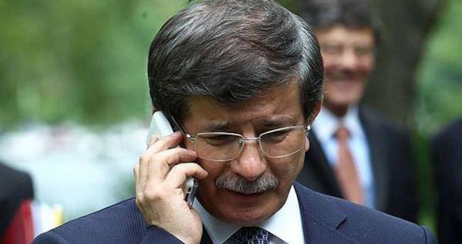 Başbakan Davutoğlu'ndan Özgecan'ın ailesine taziye telefonu