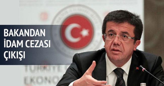 Bakan Zeybekçi: İdam cezasını geri getirmemiz gerekiyor