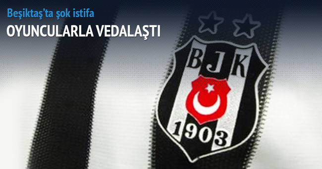 Beşiktaş'ta Ahmet Kandemir istifa etti