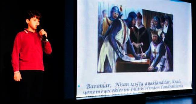 Şahinkaya'da 'boyundan büyük ' konuşmalar