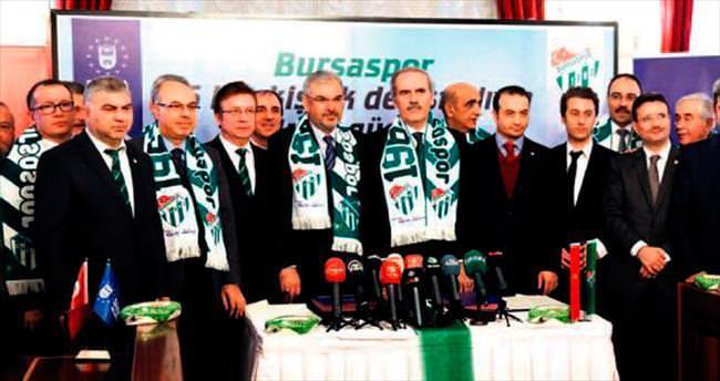 Bursaspor için tarihi tören
