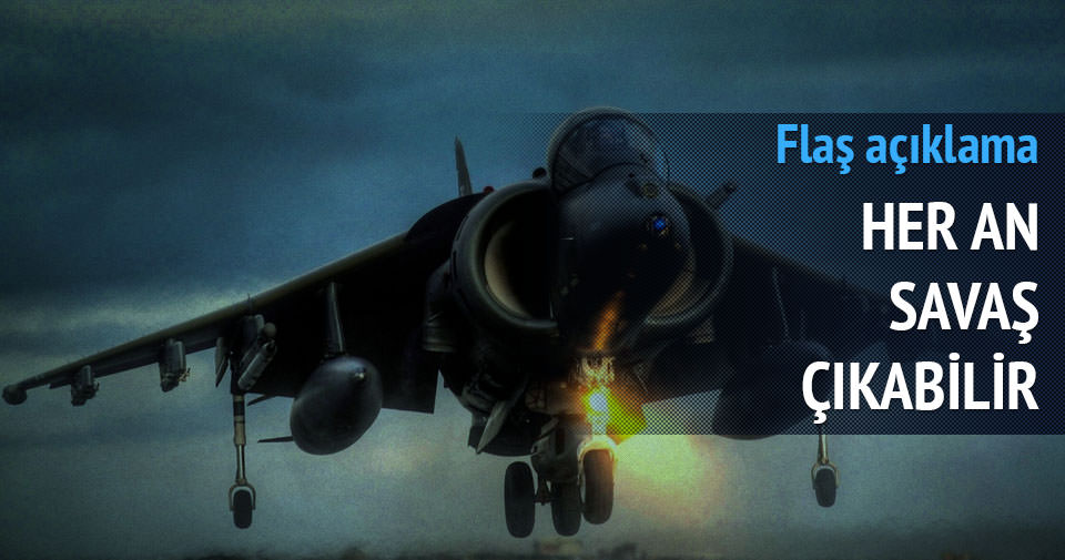 İsrail'den flaş 'savaş' açıklaması