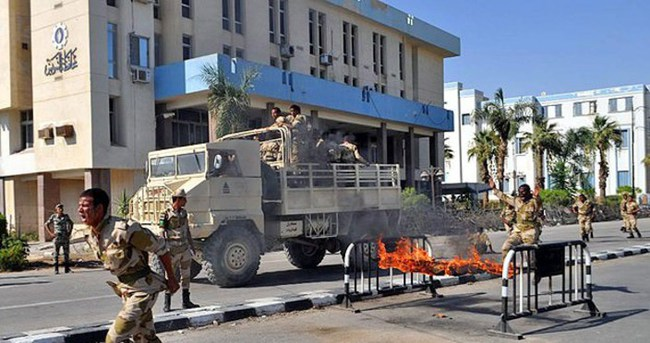Mısır'da şiddet olayları