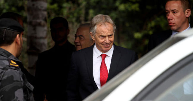 Ortadoğu Dörtlüsü Temsilcisi Blair Gazze'yi ziyaret etti