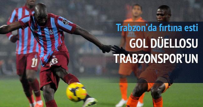 Gol düellosu Trabzonspor'un