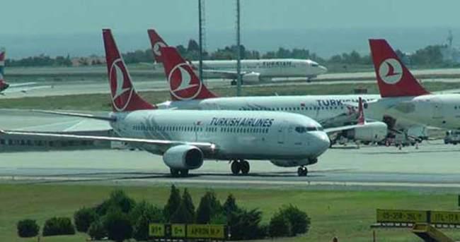 Uçak arıza yaptı yolcular isyan etti