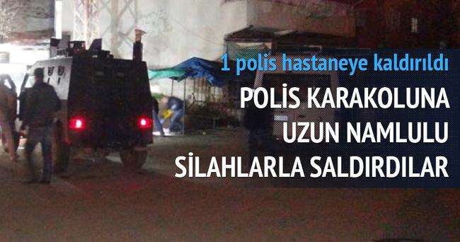 Polis karakoluna silahlı saldırı!