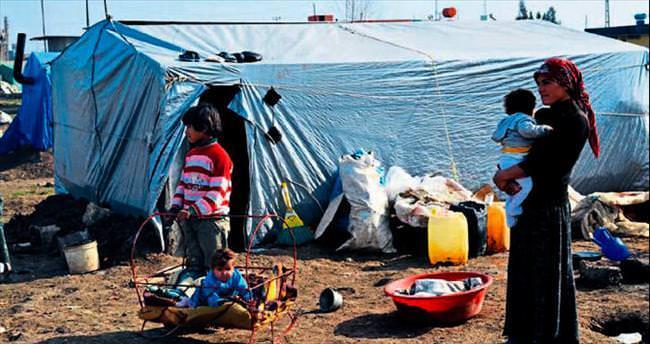 Suriyeliler için organize yardım