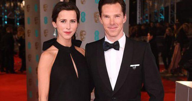 Benedict Cumberbatch evlendi