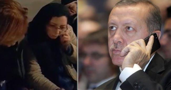 İşte Erdoğan'la Özgecan'ın annesinin konuşması