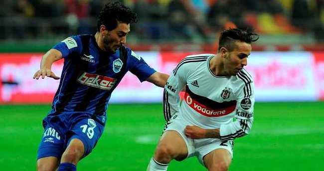 Beşiktaş - Erciyesspor maçı Osmanlı Stadı'nda