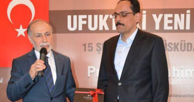 Kalın: Yeni Türkiye'nin yolu köklerimizde