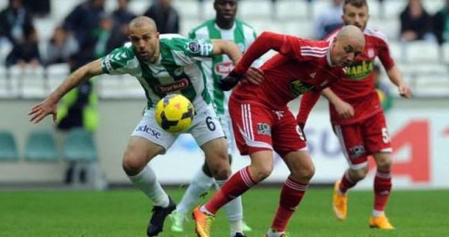 Torku Konyaspor'un tek eksiği gol