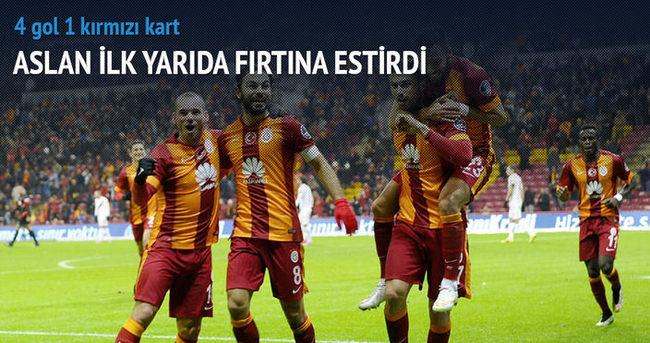 Galatasaray haftayı üç puanla kapattı