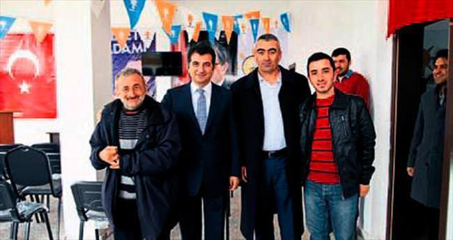 Ünsal Ban seçim gezilerine başladı