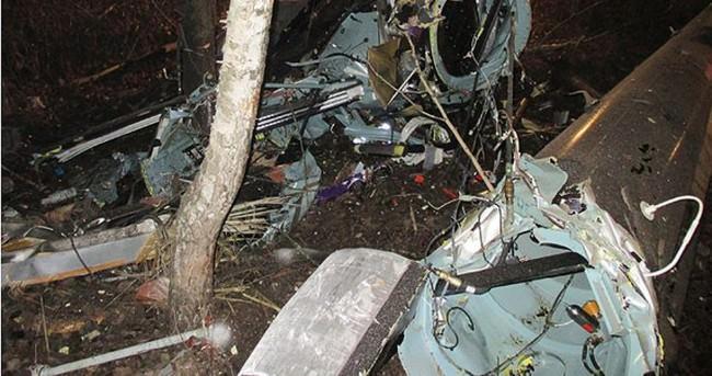 Suudi Arabistan'da askeri helikopter düştü