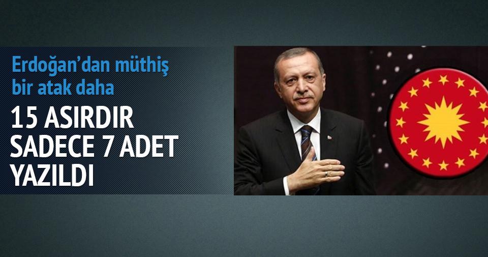Erdoğan'dan muhteşem bir atak daha