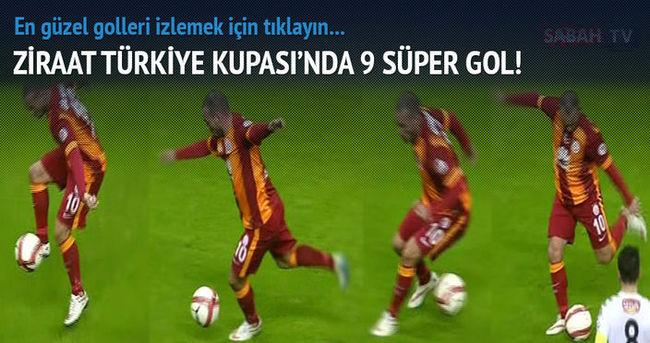 Ziraat Türkiye Kupası'nda en güzel 9 gol