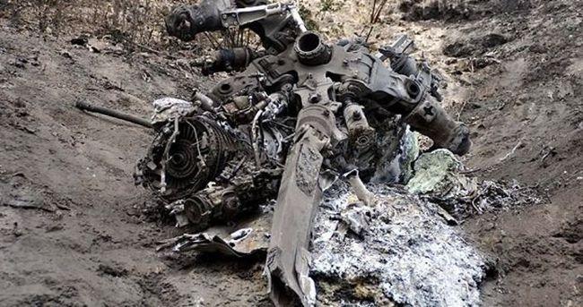 Suriye helikopteri düştü iddiası