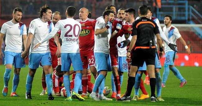 Trabzonspor'a PFDK'dan ağır ceza