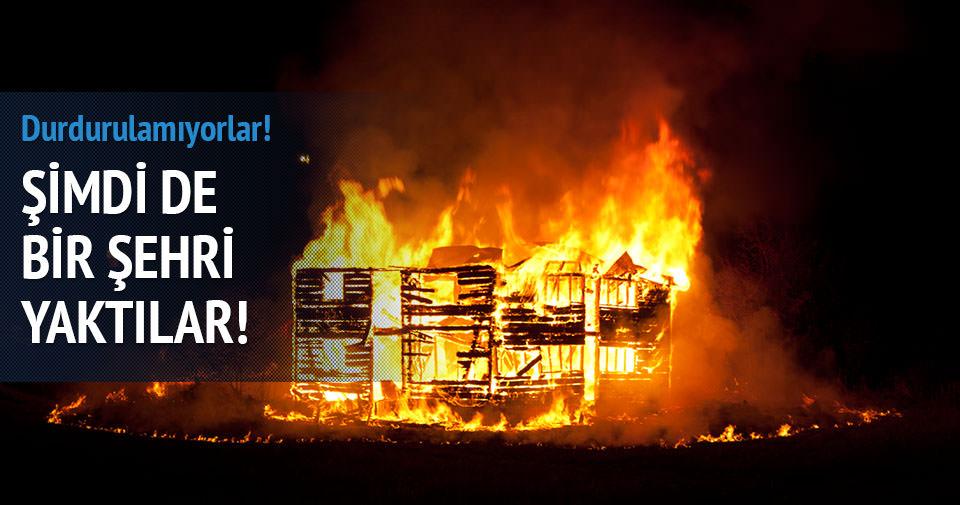 Boko Haram bir şehri yaktı!