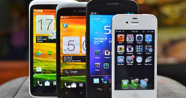 2014'te kaç adet akıllı telefon satıldı?