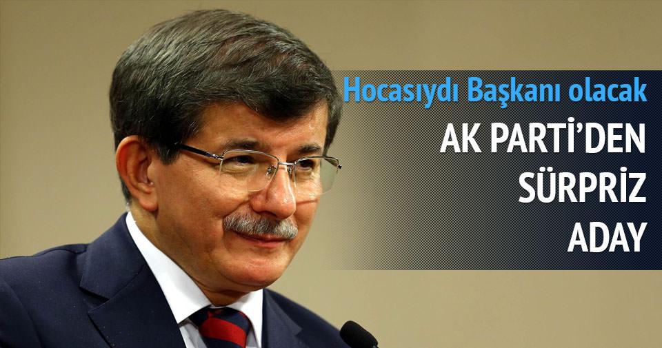 Davutoğlu'nun öğrencisi milletvekili adayı oldu