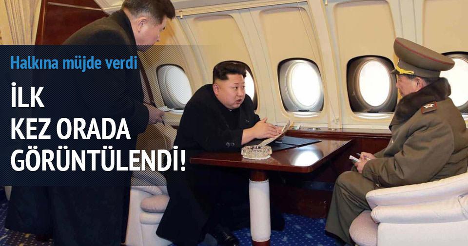 Kim Jong Un ilk kez böyle görüntülendi