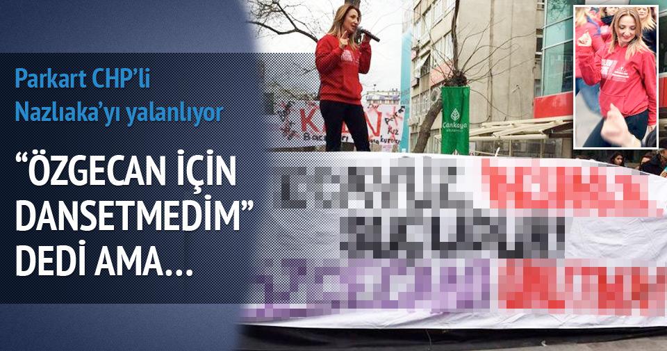 CHP'li vekili Özgecan pankartı yalanladı