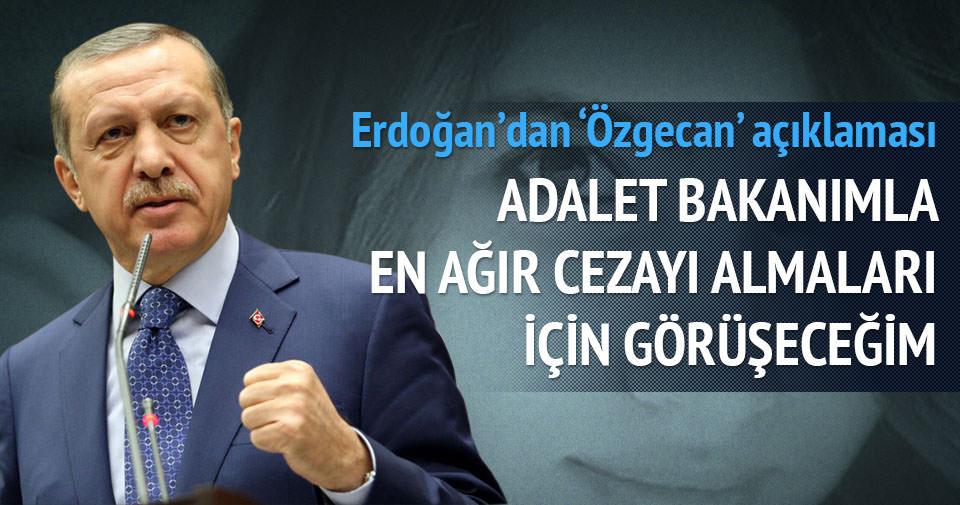 Erdoğan'dan 'Özgecan' sözü