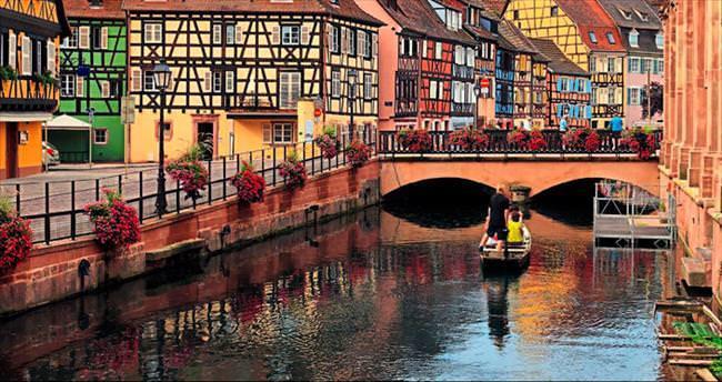 Almanya ve Fransa'nın paylaşamadığı şehir Masal diyarı Colmar