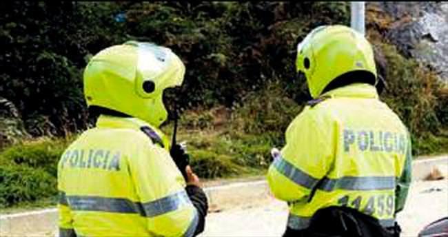 Kolombiya'da sarhoş şoför takımı yaktı