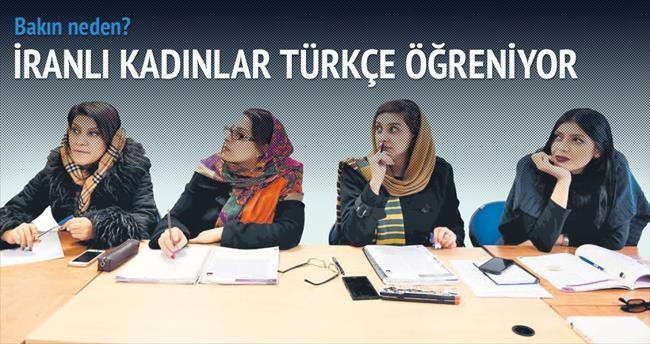 İranlı ev hanımları Türk dizileri aşkına Türkçe öğreniyor