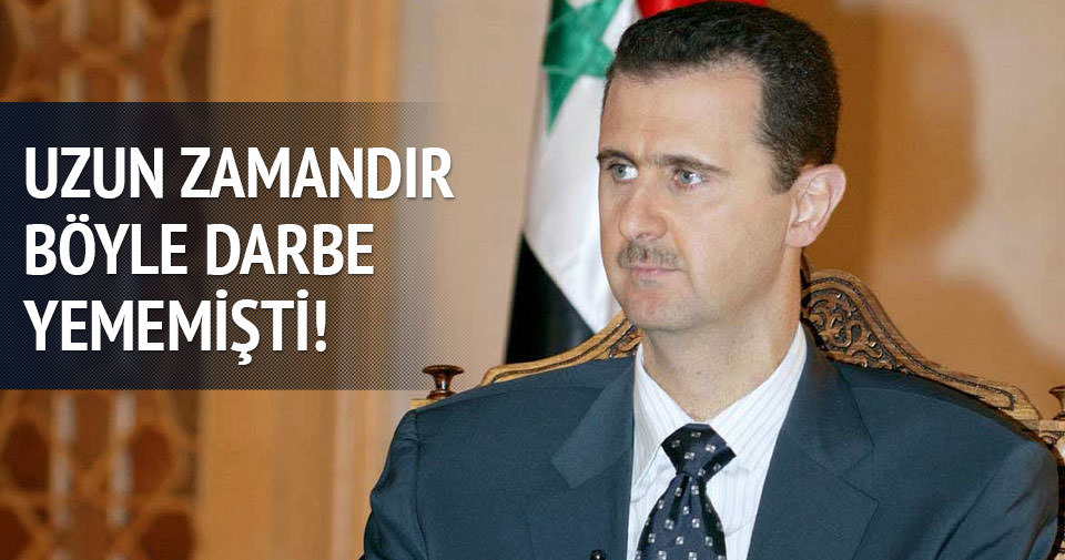 Esad'a ağır darbe