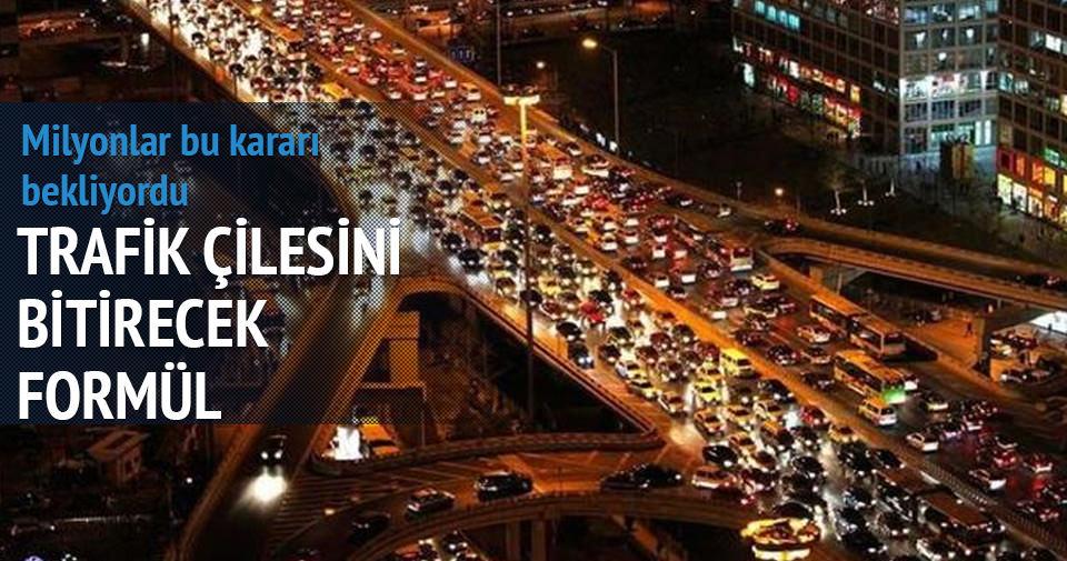İstanbul trafiğini bitirecek çalışma