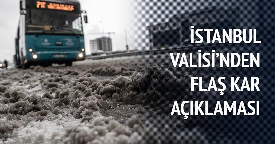 İstanbul Valisi Vasip Şahin'den flaş açıklama