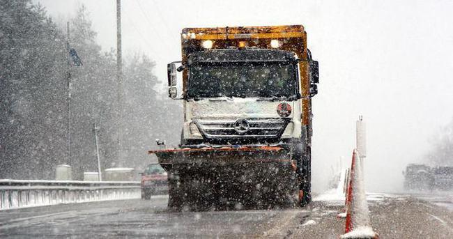 Kar yağışı ulaşımı olumsuz etkiledi