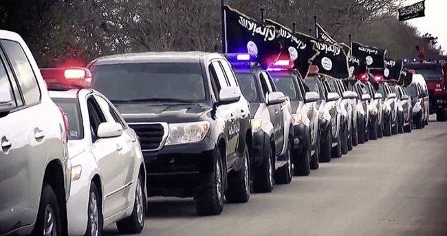 IŞİD Libya'da gövde gösterisi yaptı