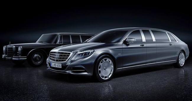 Dev Mercedes Limuzin büyüleyecek
