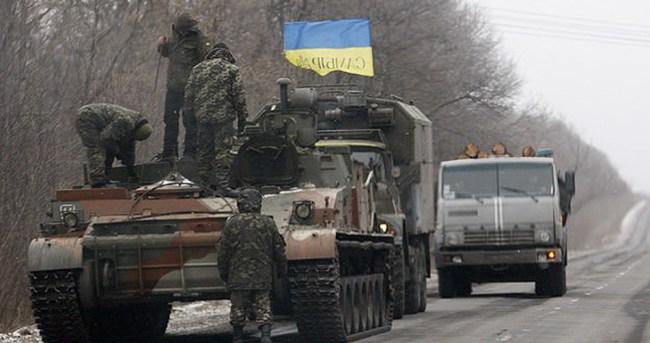 Ukrayna askerleri o kentten çekildi