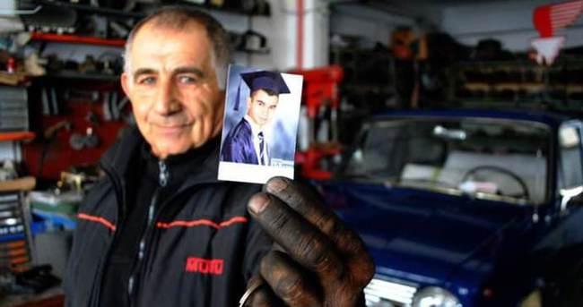 41 yıllık Murat 124'ü torununa hediye etti
