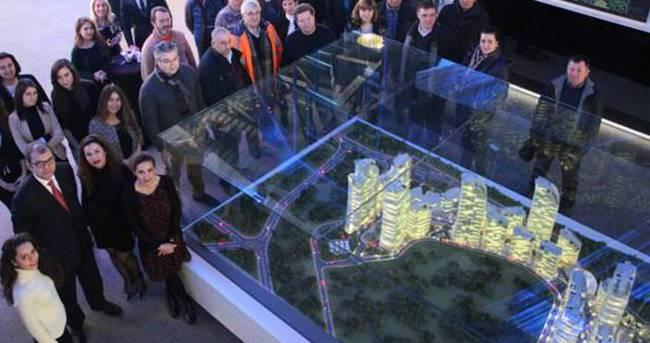 Rus yatırımcılar Ağaoğlu Maslak 1453'ü ziyaret etti
