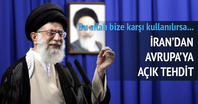 İran Avrupa'yı tehdit etti!