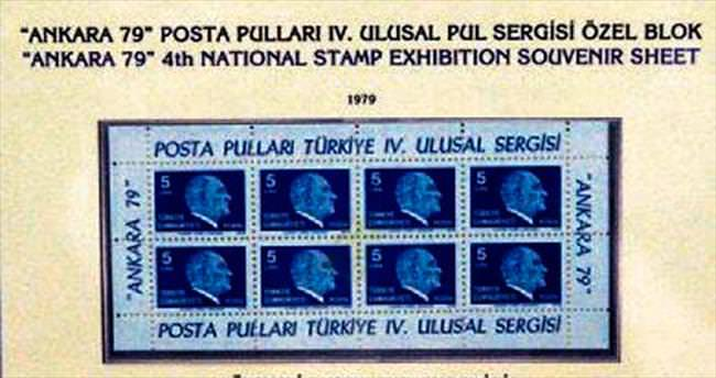 Atatürk anısına pul sergisi açıldı