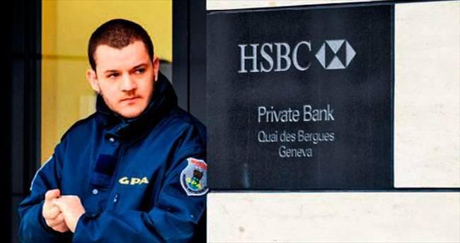HSBC'nin İsviçre şubelerine baskın
