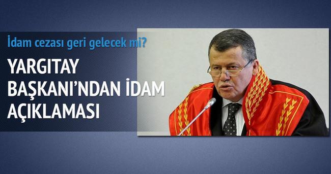 Yargıtay Başkanı Cirit: Toplum idamı istiyor